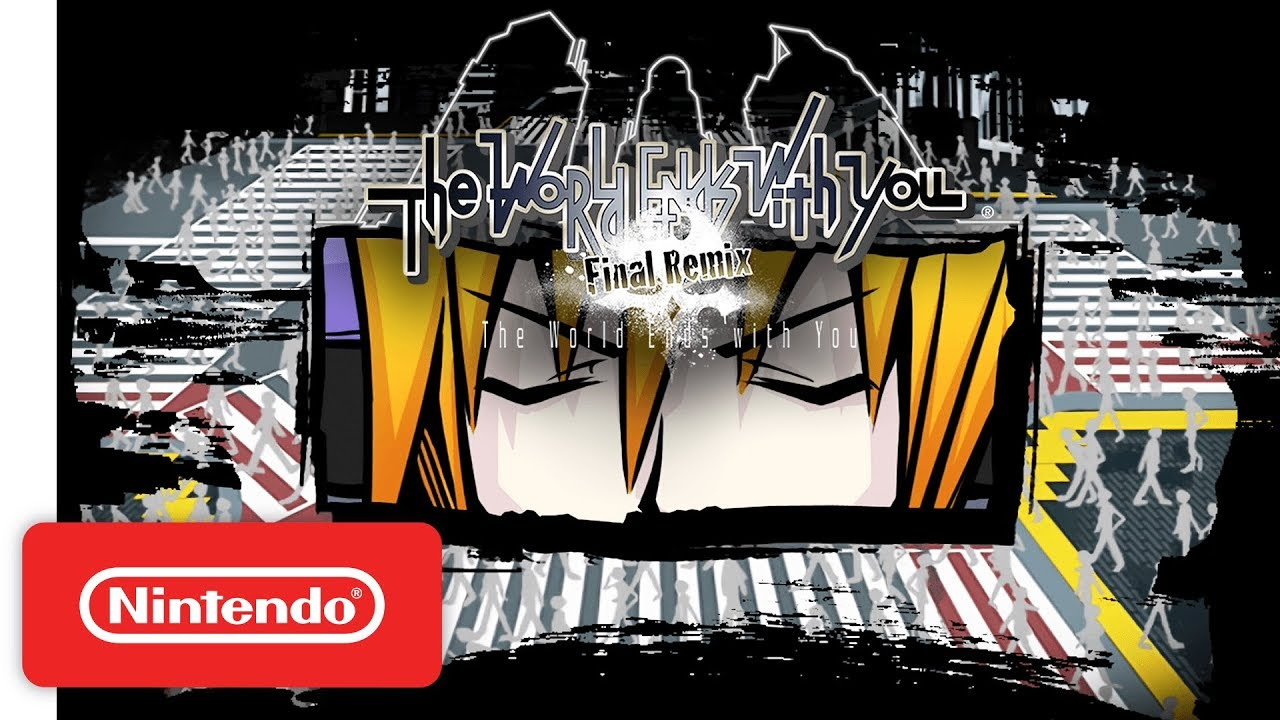 The World Ends with You: Final Remix - Teaser Trailer - Nintendo Switch