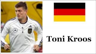 How to Pronounce Toni Kroos - German Footballer