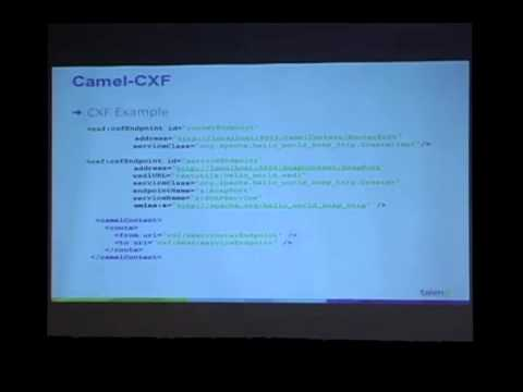 Integrating WebServices with Camel