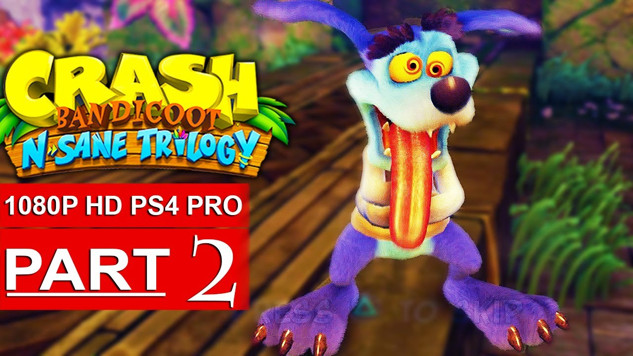how to play 2 player on crash bandicoot ps4