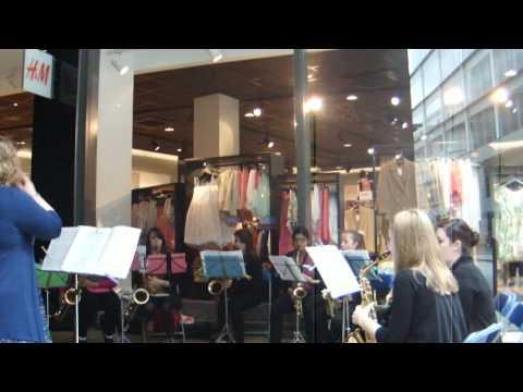 Redbridge Music School Saxophone Ensemble