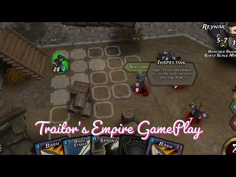 Traitors Empire  (Android/Ios) Gameplay Review (Rpg , Card) [1440p/60fps]