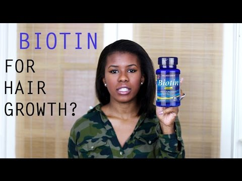 Biotin Vitamins/Supplements For Hair Growth | Healthy Hair Journey