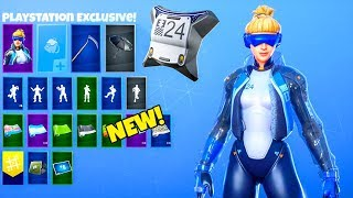 *NEW* Playstation Exclusive SKIN Neo Versa..! (LEAKED) Fortnite Battle Royale