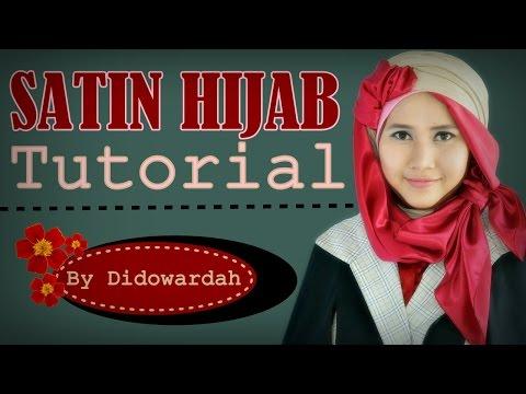 Tutorial Hijab Segi Empat Satin by Didowardah #60