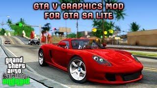 MANTUL!! GTA V GRAPHICS [50KB] MOD For GTA Sa Android | Support All Os Android #2