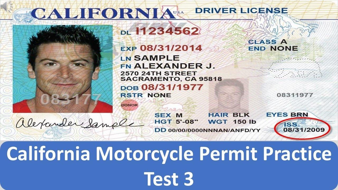motorcycle license training california