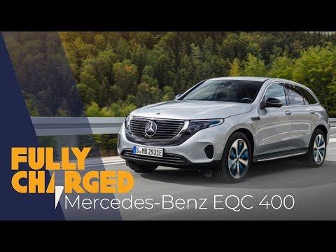 Mercedes-Benz EQC luxury electric SUV 2019 4k review | Fully Charged