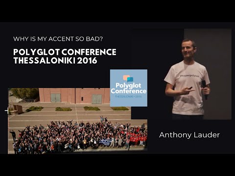 Anthony Lauder - Why Is My Accent So Bad?