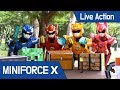 [MiniForceX] Live Action - Minecraft : MiniforceX VS Wizard Cripper!!