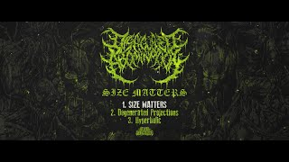 DISFIGURED ABOMINATION - SIZE MATTERS [OFFICIAL DEMO STREAM] (2021) SW EXCLUSIVE