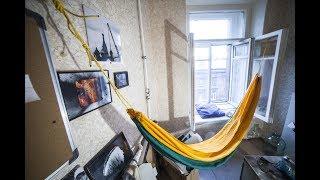видео Гамак в квартире