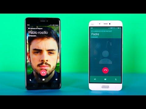 Llamadas WHATSAPP vs Llamadas TELEGRAM, diferencias en español