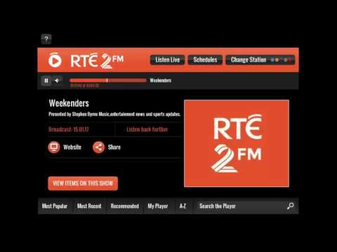 Tom Daley on RTE radio 2