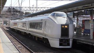回8724M 651系 K201編成 水戸駅到着