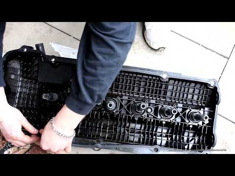 ventildeckeldichtung wechseln e46 valve cover change. Black Bedroom Furniture Sets. Home Design Ideas