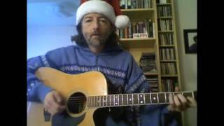 "Feliz Navidad- Guitar lesson in ""G"""