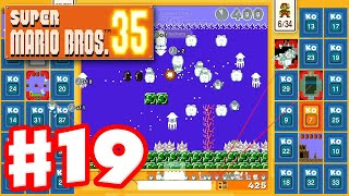 Super Mario Bros. 35 - Gameplay Part 19 - Underwater Chaos