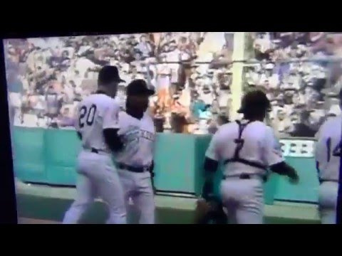 Dale Murphy Squeezes Final Out 1st Win Colorado Rockies