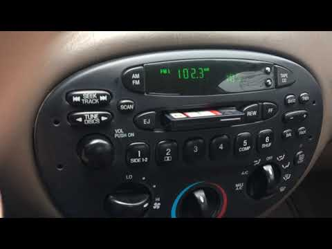 1999 Ford Escort ZX2 Tape Casette Deck Issues.