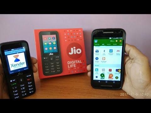 Jio phone : Share files via Xender ✓