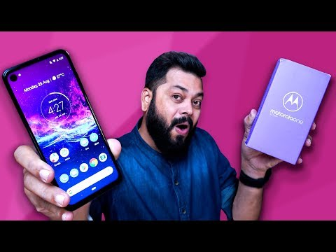Motorola One Action Unboxing & First Impressions  ⚡ ⚡ ⚡Ye Hai Kuch Alag!!