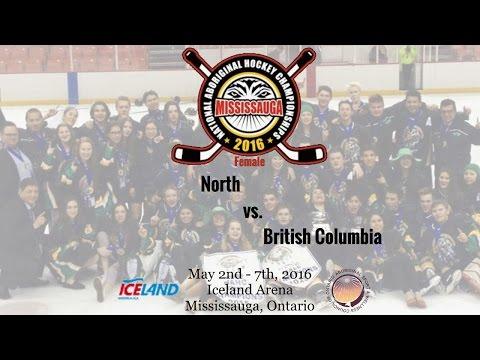 2016 NAHC - North vs. British Columbia (Female)
