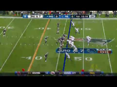 Colts @ Patriots 2010 (Week Eleven)
