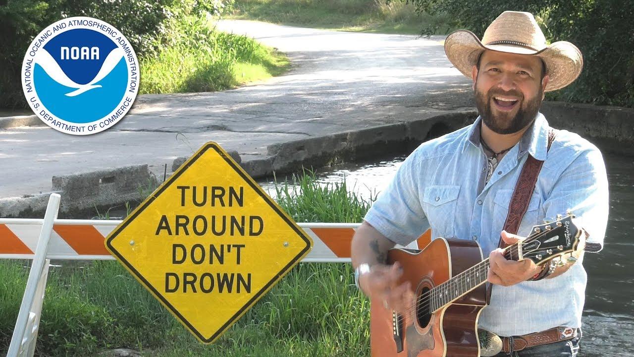 Turn Around, Don't Drown PSA Music Video featuring Matt Hawk - YouTube