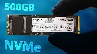 Crucial P1 500GB NVMe M.2 SSD Review