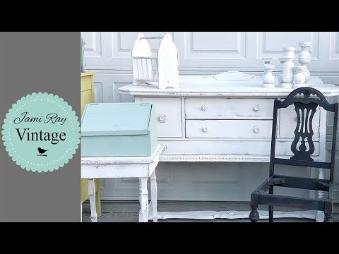 How To Distress Farmhouse Furniture | Tips And Tricks