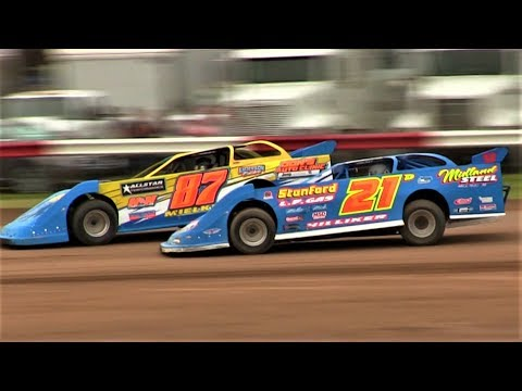 6-9-18 Late Model Heat 2 Merritt Speedway