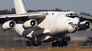 ILYUSHIN IL-76 SCREAMING LOUD DEPARTURE with incredible Sound (4K)