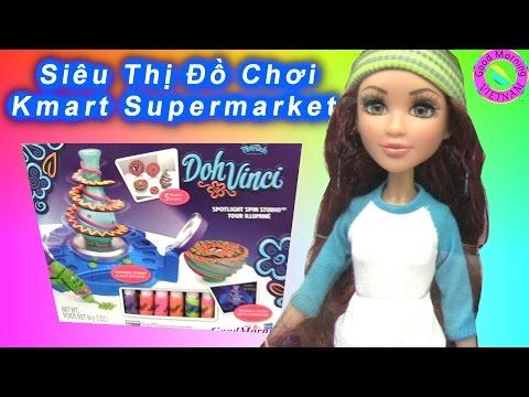 💜 Buổi Đi Siêu Thị Đồ Chơi Cùng Chị Bí Đỏ (Lần 6) Siêu Thị Kmart  Toys Supermaket  California