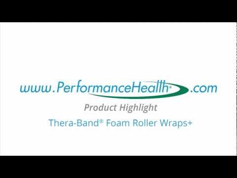 Performance Health Product Highlight Thera-Band® Foam Roller Wraps+
