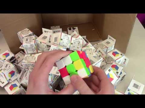 101 Rubik's Cubes Unboxing