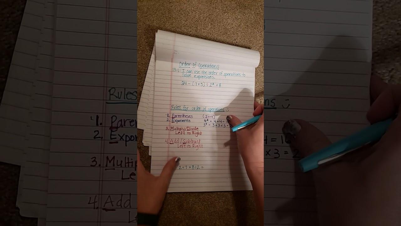 13-1 Math Lesson - YouTube