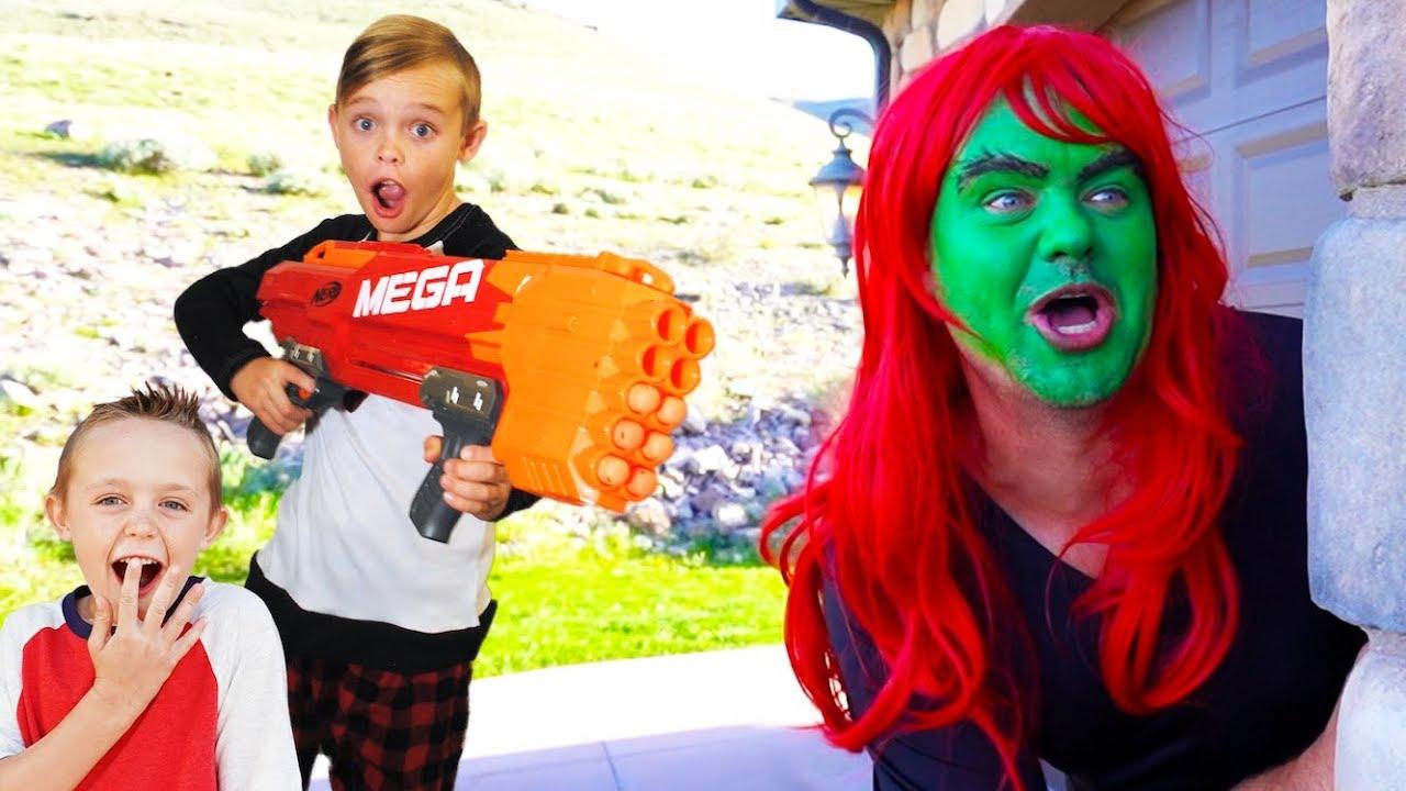 babysitter showdown with superhero kids