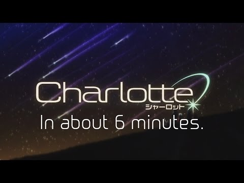 Charlotte in about 6 minutes