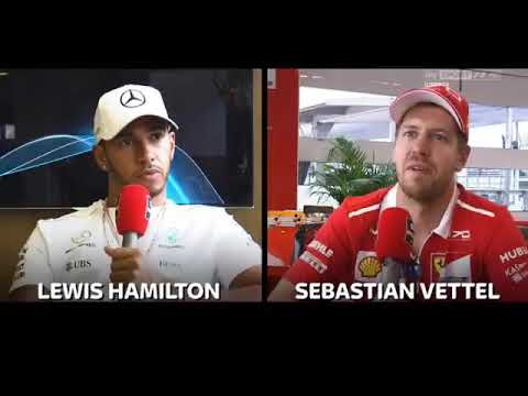 Double interview with Vettel and Hamilton (Part 1) - Italian GP 2017