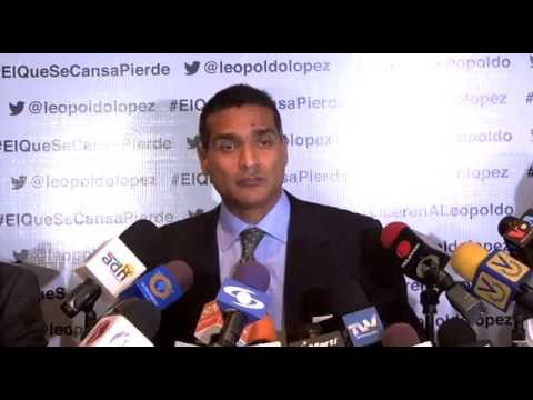 """Juan Carlos Gutiérrez ONU evidencia """"montaje judicial"""" en contra de Leopoldo López"""