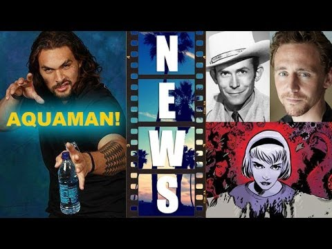 Jason Momoa is Aquaman?! Tom Hiddleston is Hank Williams! Sabrina Movie! - Beyond The Trailer