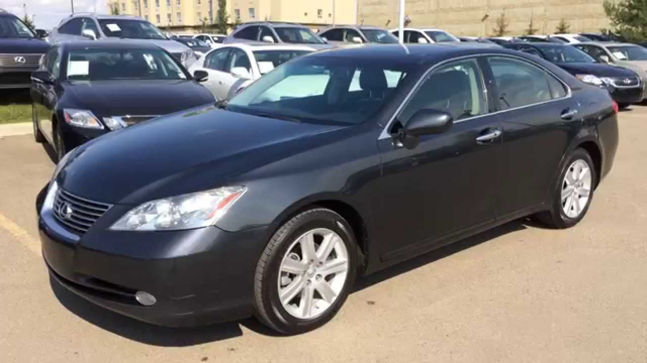 Pre Owned Gray On Black 2009 Lexus ES 350 4dr Sdn FWD