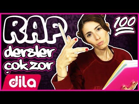 Dersler Çok Zor Rap Şarkı Dila Kent ( PARODİ )
