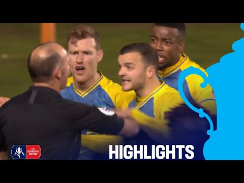 Two Controversial Penalty Decisions! | Blackpool 3-2 Solihull | R2 Emirates FA Cup 2018/19