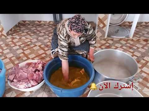 إكتشفوا أسرااار أشهر أطباق الأعراس مع لالة فاطيمة لمراني، دجاج معمر ومحمر و اللحم بالبرقوق  جزء1