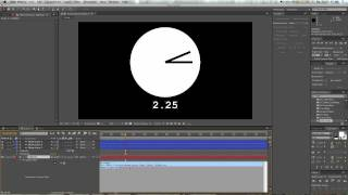 The Time Expression - Adobe After Effects Tutorial