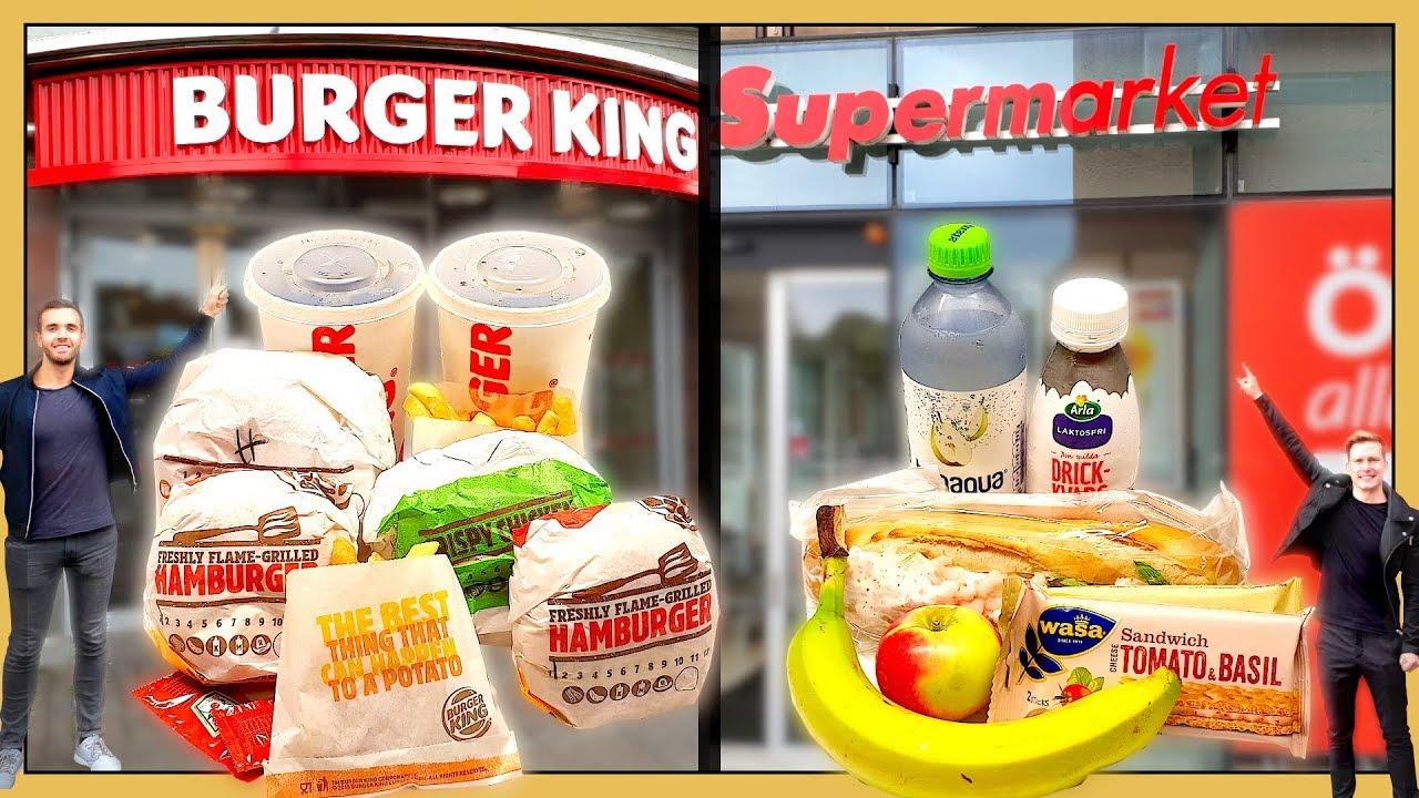 196 R Mat Billigare P 229 Ica Eller P 229 Burger King Youtube