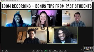 Zoom Demo for Recording + Bonus Tips from Past Public Speaking Students