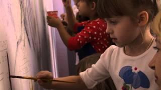 Бесплатный мастер – класс граффити на стене(Академией Информационных Технологий «Эверест» 04.10.15 для детей и родителей проведен бесплатный мастер –..., 2015-10-10T17:42:27.000Z)